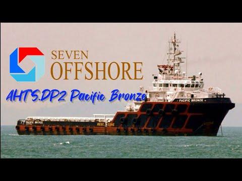 AHTS DP 2 Pacific Bronze | Engines Test | DP Test | Seven Offshore | SeamanVlog