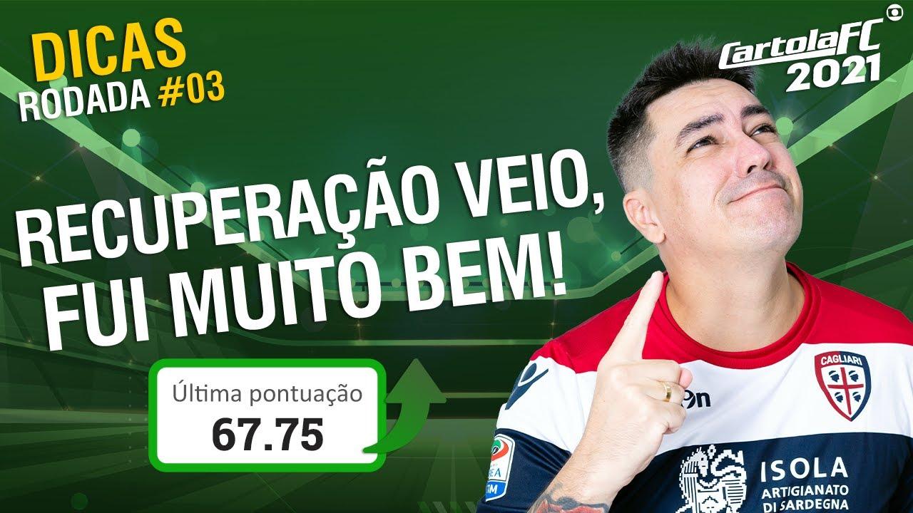 DICAS CARTOLA FC #3 - FUI BEM DEMAIS! OLHO NESSAS DICAS!