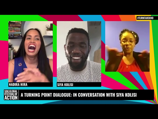 A Turning Point Dialogue: In Conversation with Siya Kolisi