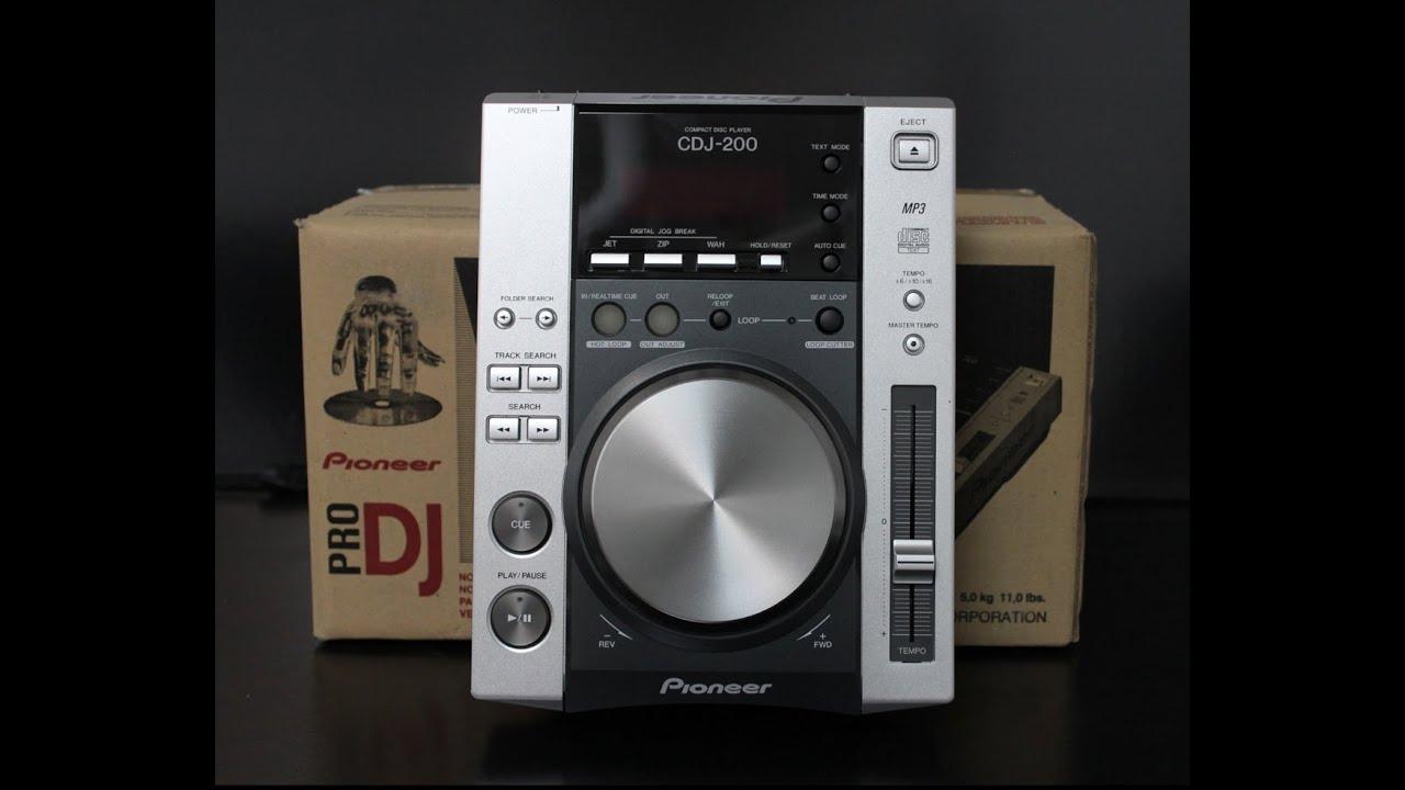 recensione i pioneer cdj 200 youtube. Black Bedroom Furniture Sets. Home Design Ideas