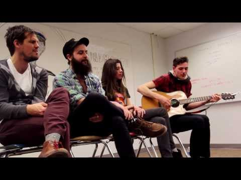 """Houndmouth """"Palmyra"""" (Lawrence High School Classroom Sessions Pt.4)"""