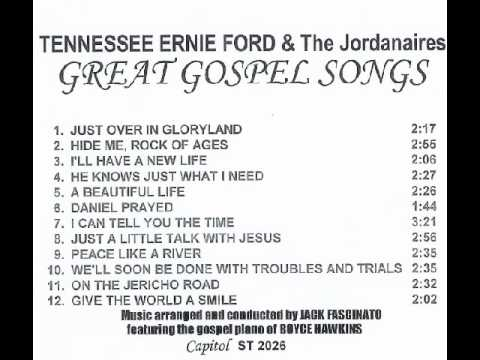 TENNESSEE ERNIE FORD & The Jordanaires:  GREAT GOSPEL SONGS