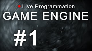 [🔴 Live] Développement d'un Moteur de Jeu - #1: La structure du moteur