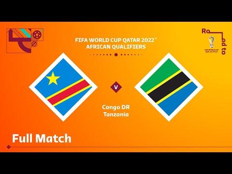 Congo DR v Tanzania | FIFA World Cup Qatar 2022 Qualifier | Full Match