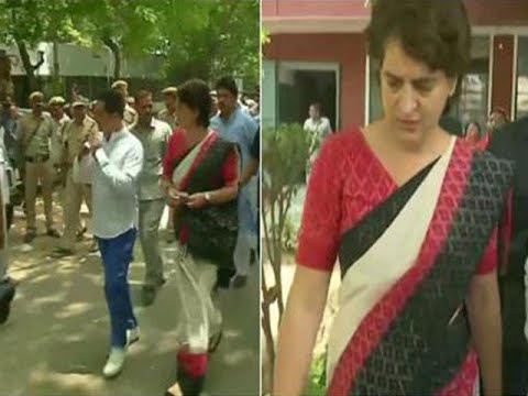 Watch: Priyanka Gandhi responds to PM Modi's 'Khan Market' jibe