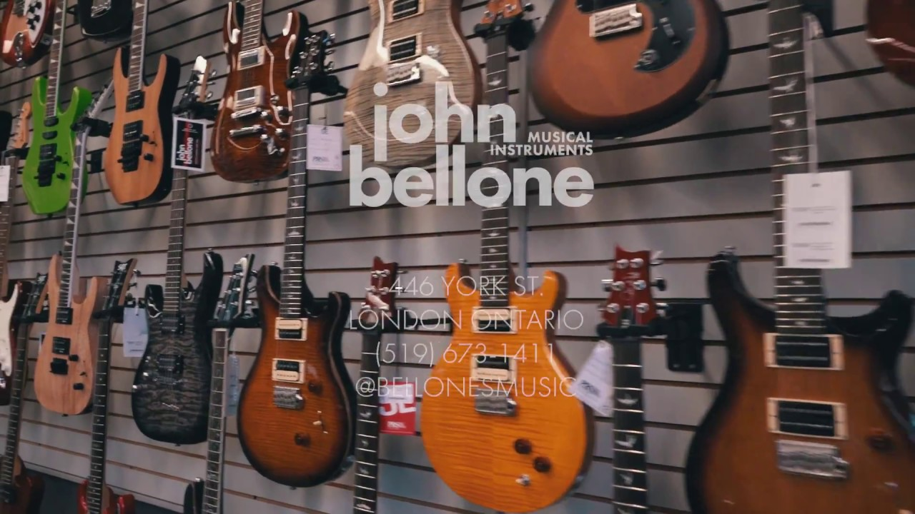 bellone's music - london ontario's guitar store - youtube