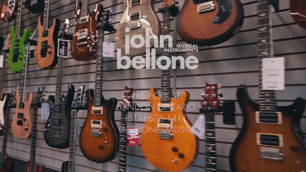 bellone's music - london ontario's guitar store - youtube