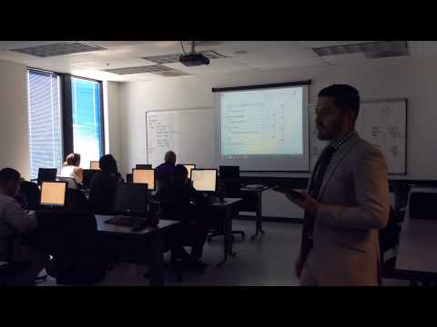 Mr B Business Office Administration Instructor teaching accounting
