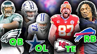 ONE All Star Position Group Your Favorite NFL Team ALWAYS Seems to Have
