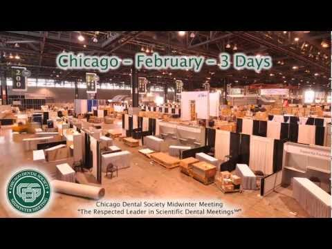 McCormick Place Tradeshow Floor Time Elapse