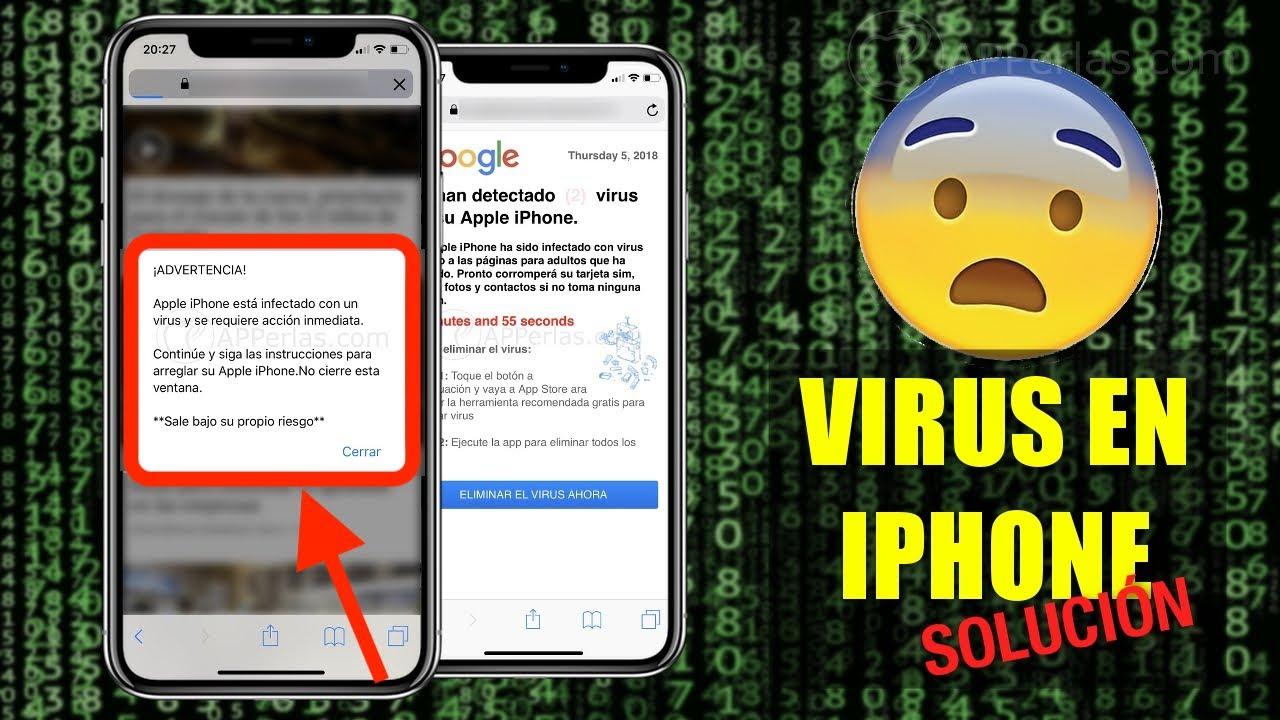 Aplicaciones Porno Para Iphone virus en el iphone. te contamos lo que debes hacer ante este