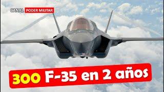 300 F-35 para 2021 y 2022