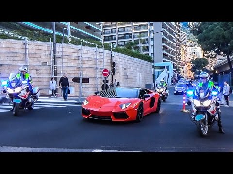 POLICE VS SUPERCARS in Monaco!👮🏻