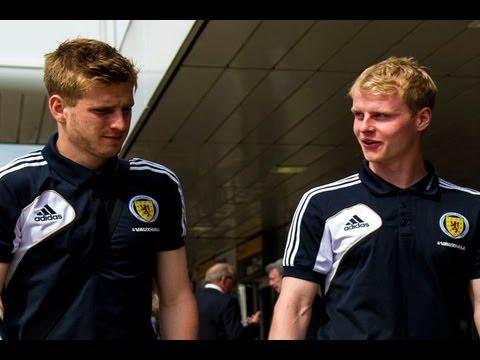Gary Mackay Steven & Stuart Armstrong / Off The Record // Official Scotland 2013