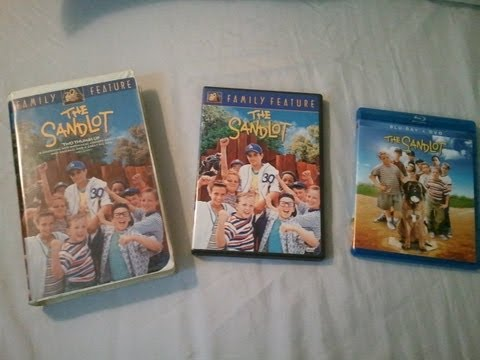 The Sandlot: An Evolution From VHS to DVD and BluRay