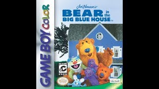 Bear in the Big Blue House Game Boy Color Playthrough