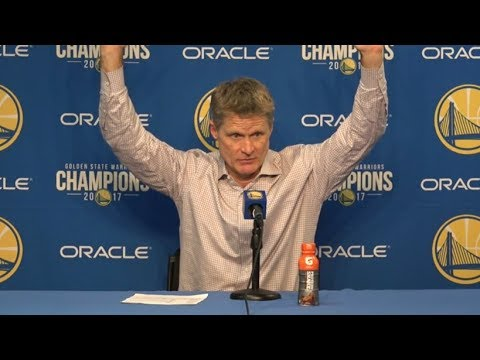 Steve Kerr Postgame Interview / GS Warriors vs Jazz / Dec 27