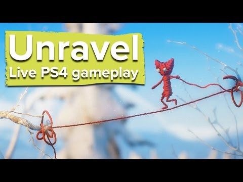 Unravel - Live PS4 gameplay