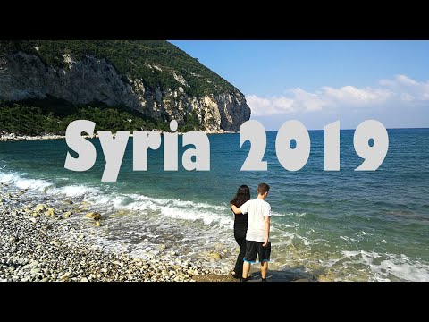 Syria Vlog 2019 - my trip to Latakia and Tartous - رحلتي إلى سوريا كأجنبي