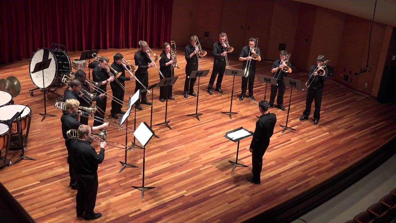 a review of evan copleys trombone choir The expandable flute choir the flute masterclass trombone trombone and wind band be the first to review this product write a review.
