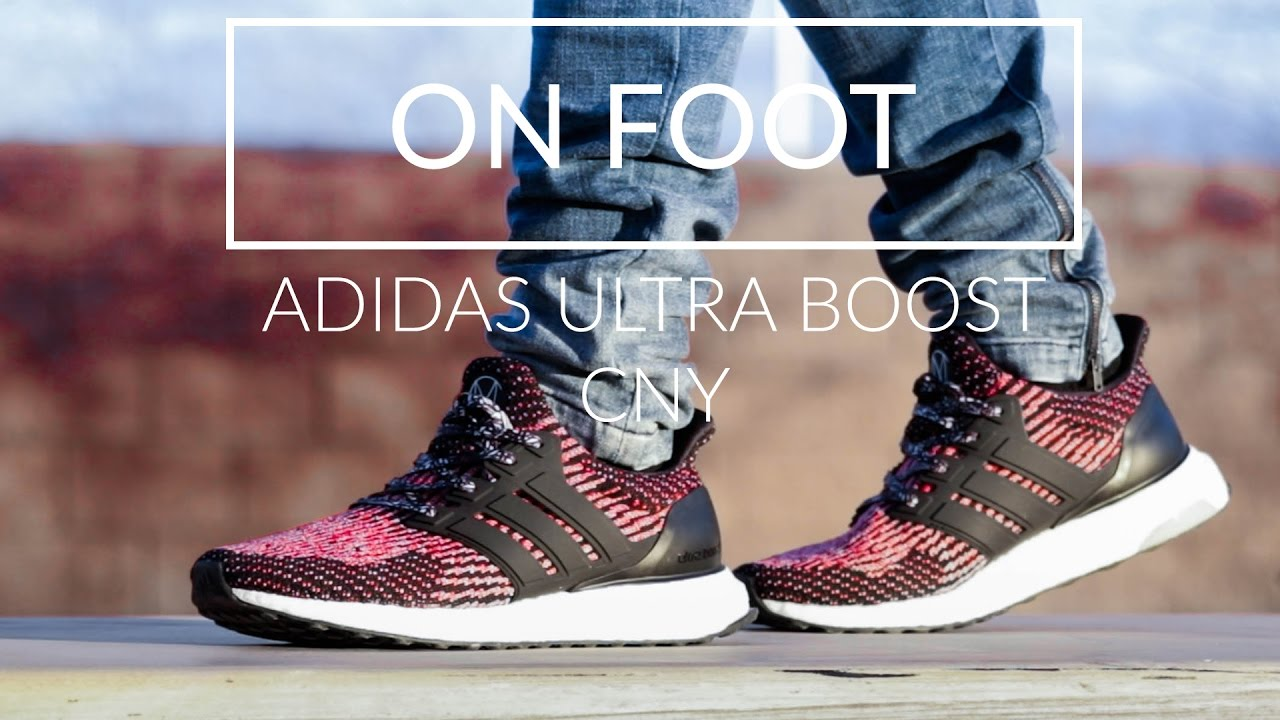 3cd8375e1830a ADIDAS ULTRA BOOST 3.0 CHINESE NEW YEARS ON FOOT - YouTube