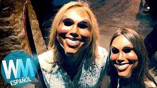¡OTRO Top 10 de MÁSCARAS ESPELUZNANTES en Películas de Terror!