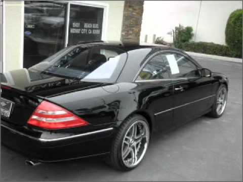 2002 Mercedes Benz Cl Class Midway City Ca Youtube