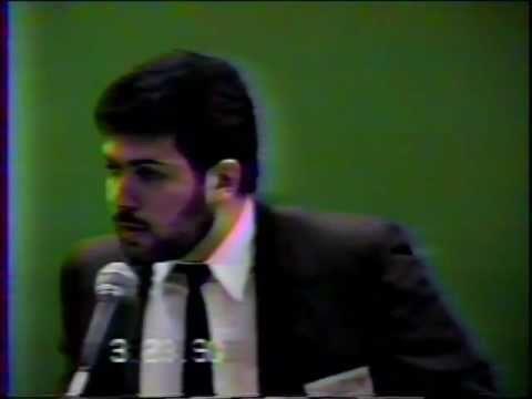 Cardozo School of Law 1990 Forum on Bias in New York Part 1 of 9