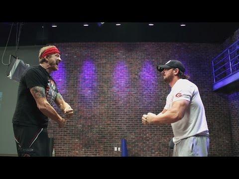 AJ Styles Works Through Injury For WWE Debut