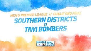 Southern Districts vs Tiwi Bombers: Qualifying Final - Men's Premier League: 2018/19 TIO NTFL