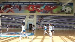 Волейбол Фрязино часть 1 девушки 2001 год. 03,05,2016
