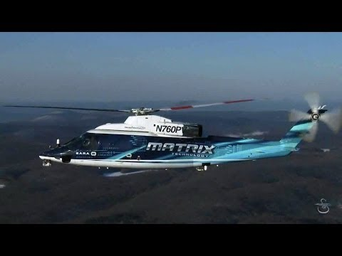 Sikorsky - Sikorsky Autonomy Research Aircraft (SARA) Matrix Technology Flight Test Phase 2 [720p]