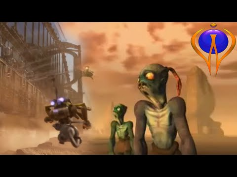 Oddworld: Soulstorm Trailer 2019 Combined With The Oddworld: Abe's Exoddus Opening Scene 1998