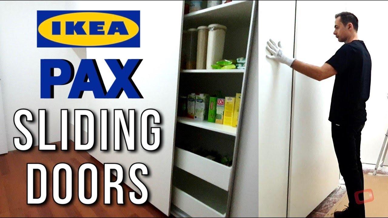 Ikea Pax Wardrobe Sliding Doors
