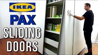 IKEA PAX Wardrobe Sliding Door Assembly - IKEA Kitchen Cabinet XL