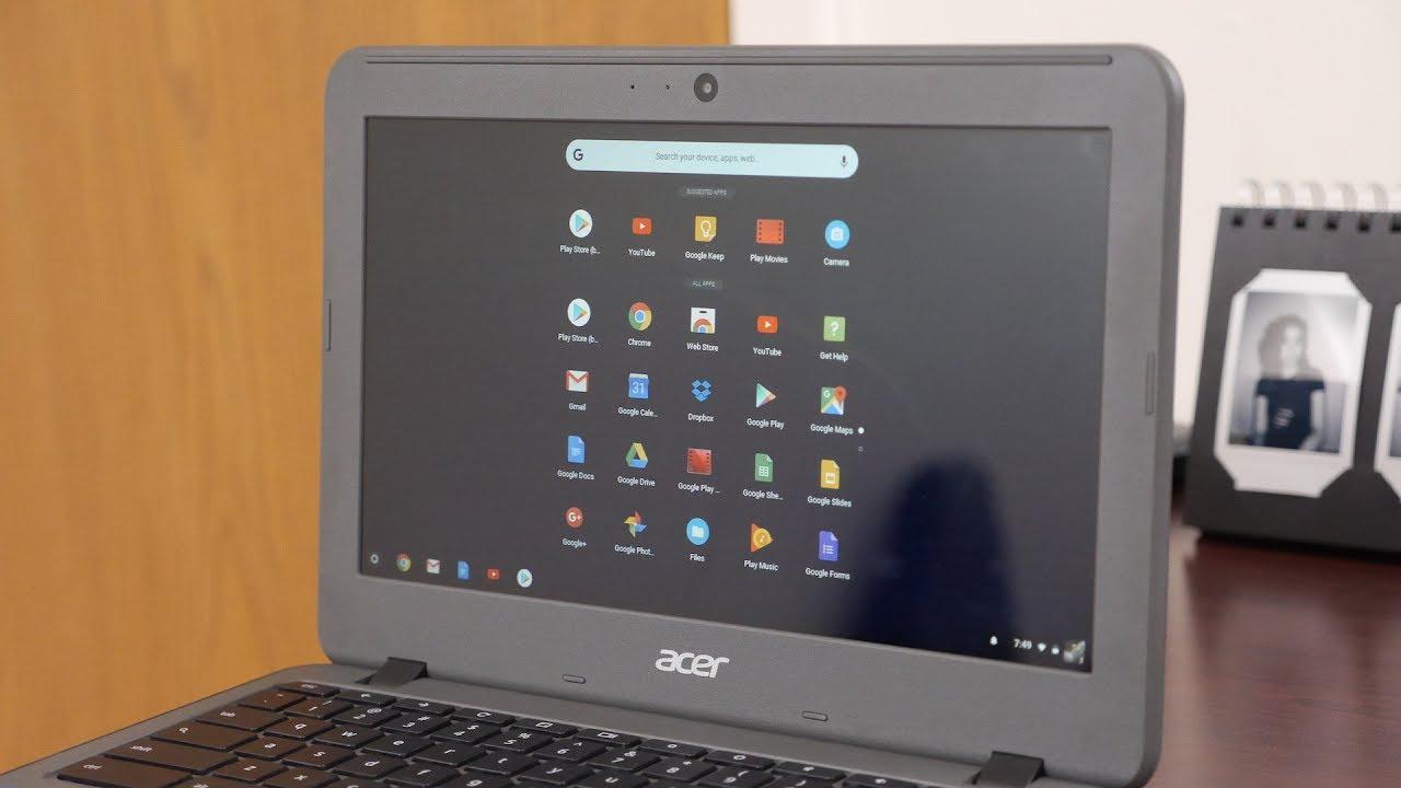 How to enable Chrome OS's Peeking Launcher