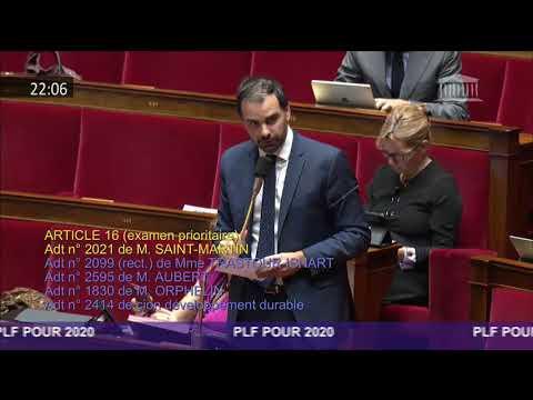 Budget 2020 - amendement tarif réduit de GNR pour les ports fluviaux