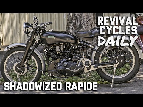 A Vincent Rapide Gets a Few Modern Upgrades! // Revival Daily 88