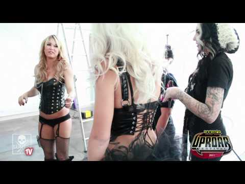 Sullen Art Collective's Miss Uproar finals - Model Shoot with Nicole Caldwell