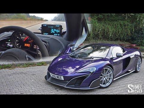 TOP SPEED Over 200MPH in My McLaren 675LT! | EXPERIENCE