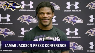 Lamar Jackson Explains How He Stays So Humble