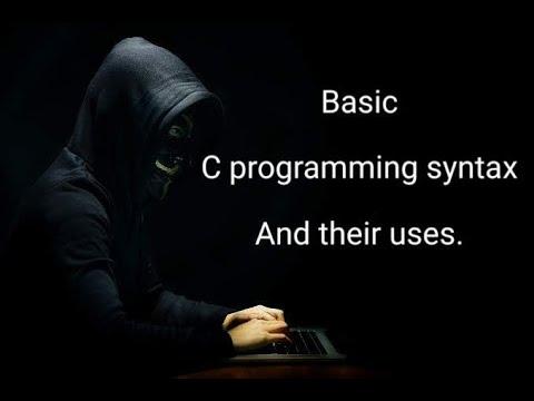 Basic C programming syntax and uses Bangla Tutorial. thumbnail