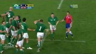 Rugby: Ireland 15-6 Australia