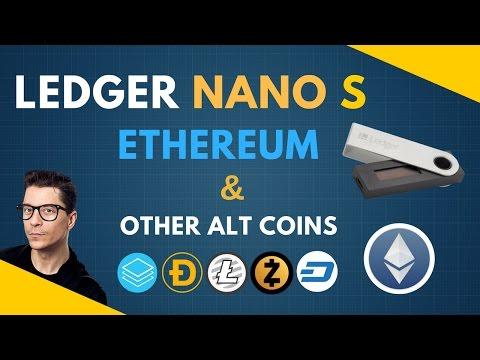 LEDGER Nano S - SAFEST Ethereum Wallet : open source cold storage
