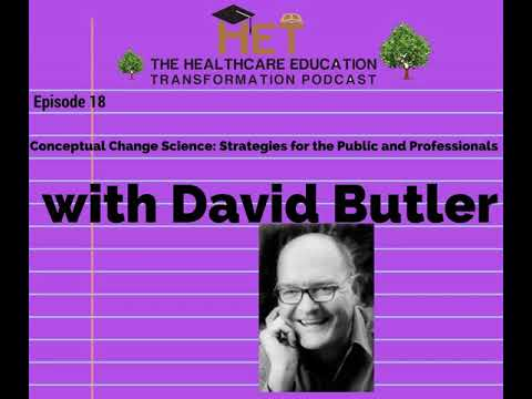 David Butler- Conceptual Change Science: Strategies for the Public and Professionals