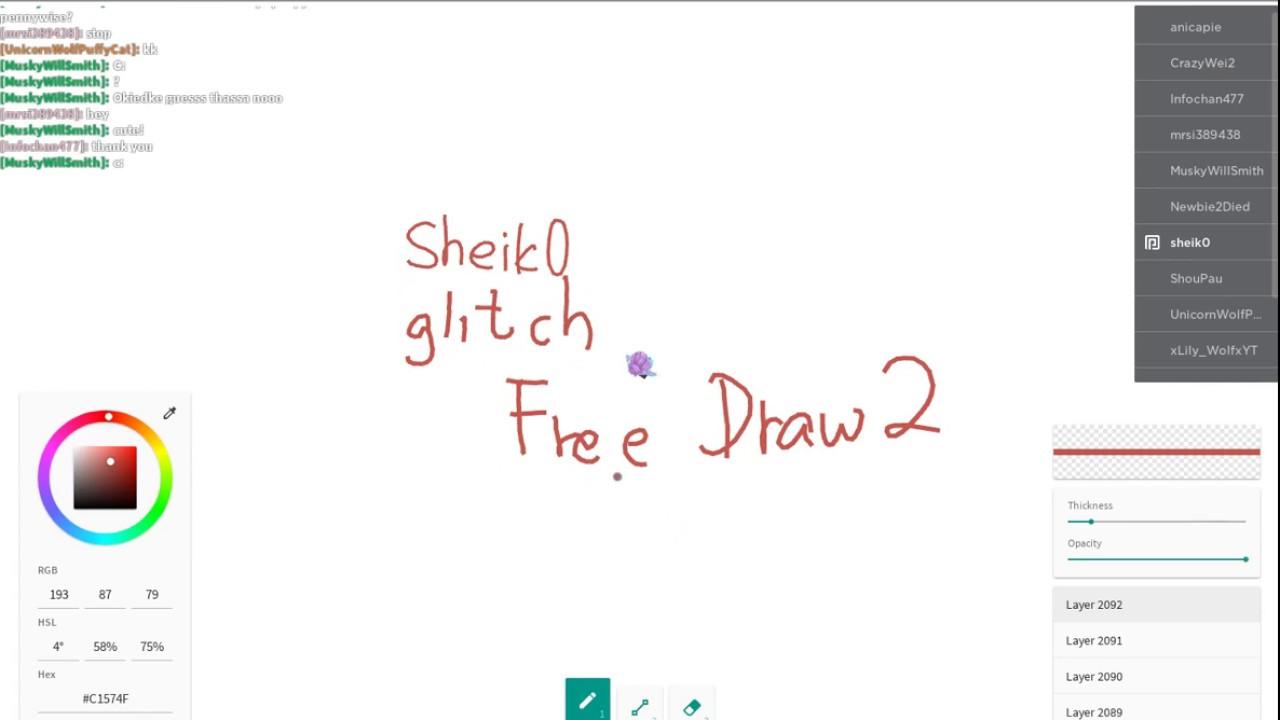 Roblox Free Draw 2 Auto Draw Free Draw 2 Too Many Layers Glitch 3d Art Roblox Youtube