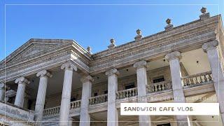 샌드위치 카페 브이로그…