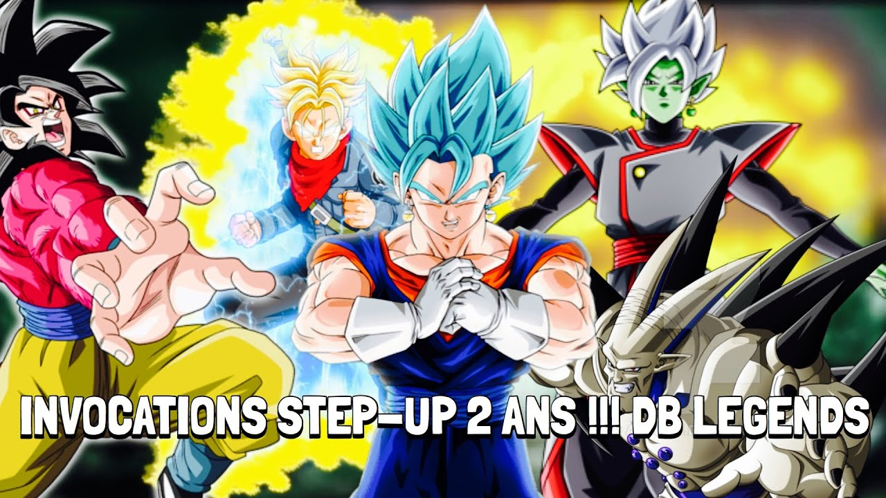 foto de INCROYABLE !!! INVOCATION STEP-UP 2 ANS !! DB LEGENDS - YouTube