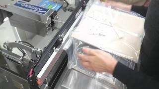 반도체 트레이포장용 진공포장기 영상