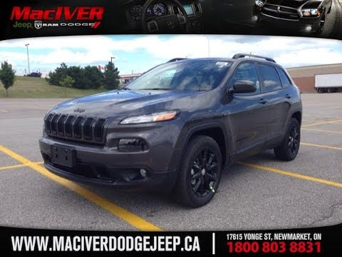 Grand Cherokee Altitude >> 2014 Grey Jeep Cherokee Altitude 4X4 Newmarket Ontario | MacIver Dodge Jeep - YouTube